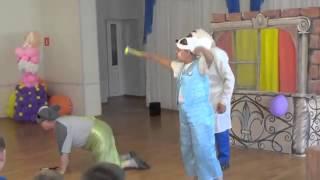 В центре «Русь» прошло театрализованное представление «День рождения кота Леопольда»