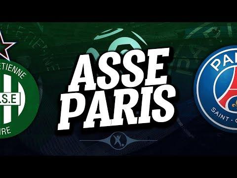 🔴 direct / live : saint etienne - psg // club house ( asse - paris )