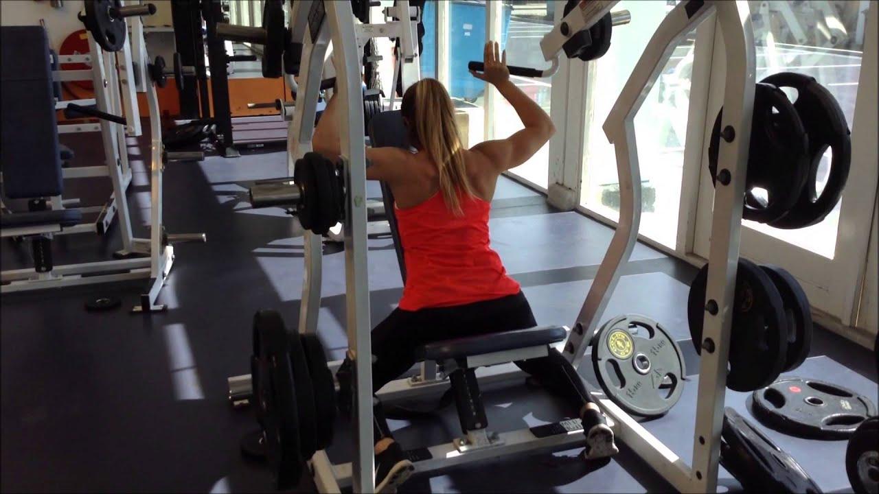 Hammer strength single arm pulldown