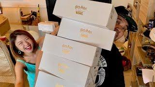 HARRY POTTER x VANS SNEAKERS MASSIVE UNBOXING!!!