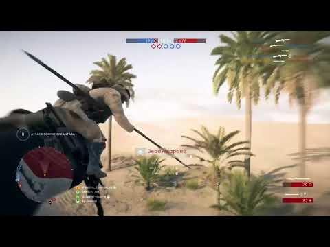 Battlefield 1 horse impale kill