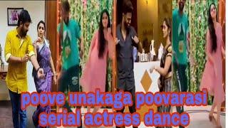 Poove Unakkaga ❣️Poovarasi Tamil Instagram reels ❣️ Tamil Dancing Queens