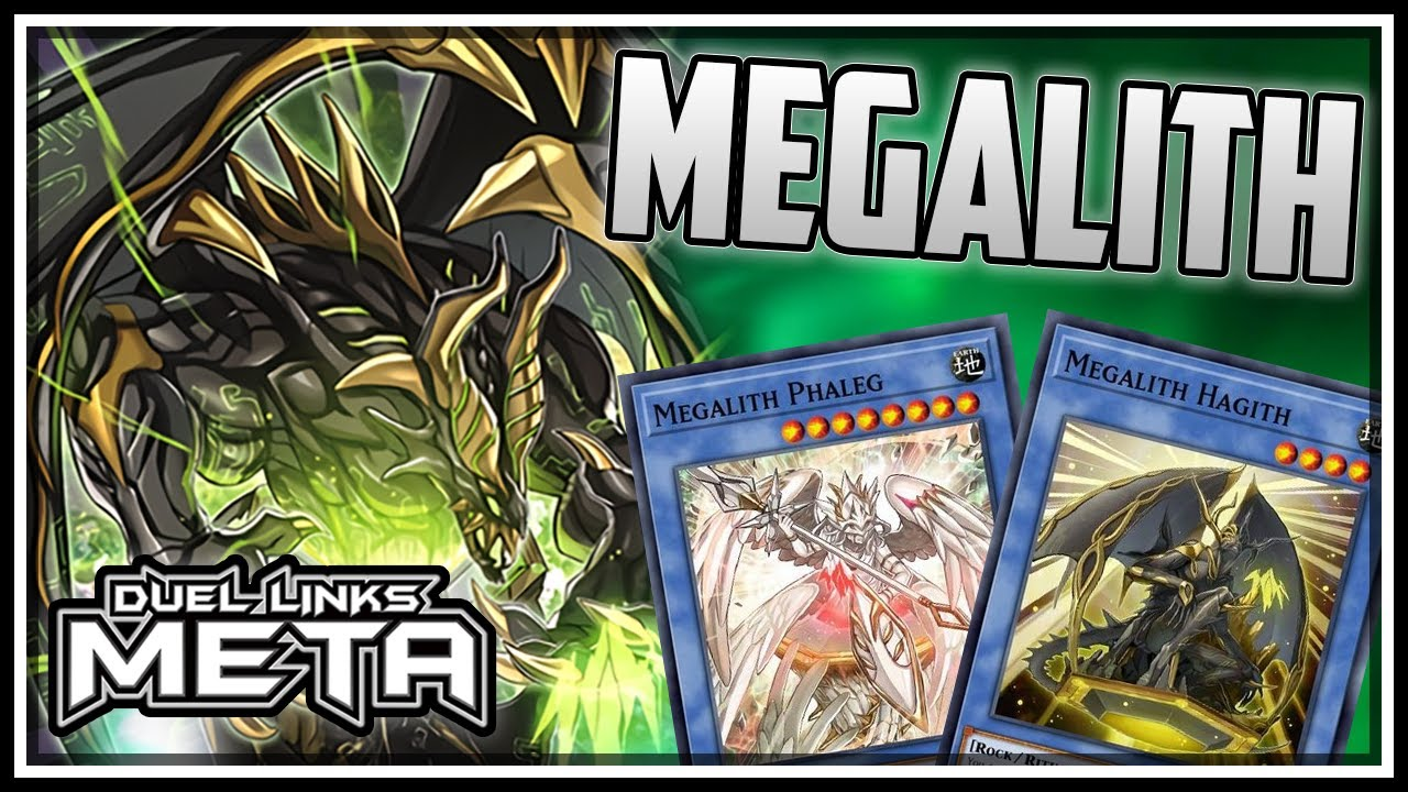 NEW Megalith! Ritual Deck with Block Dragon! [Yu-Gi-Oh! Duel Links]