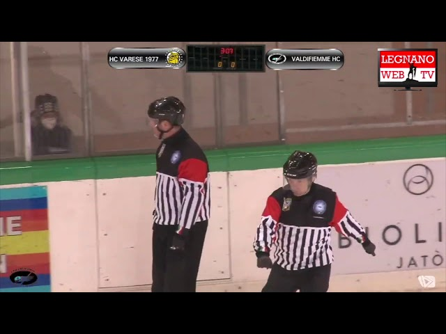 Valdifiemme HC vs HC Varese