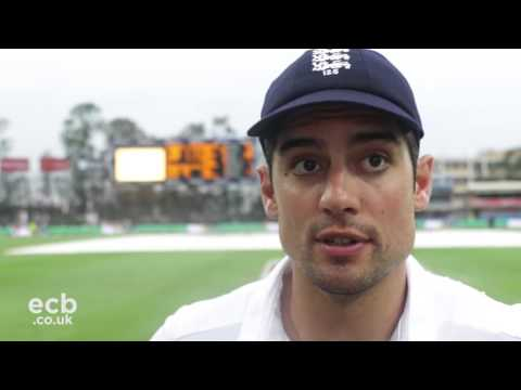 Alastair Cook hails dominant England
