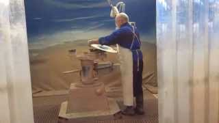 SB10 Glaston Bavelloni 1(SB10 Glaston Bavelloni Криволинейный фацет Криволинейная обработка стекла кромка и фацет ТБ Технологии., 2014-09-17T09:08:44.000Z)