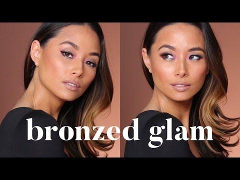 BRONZE   Full Coverage Glam Summer Makeup   Aja Dang thumbnail