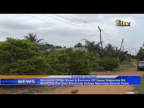 Residents of Ojo Street in Benin City cry out over electricity outage spanning several years