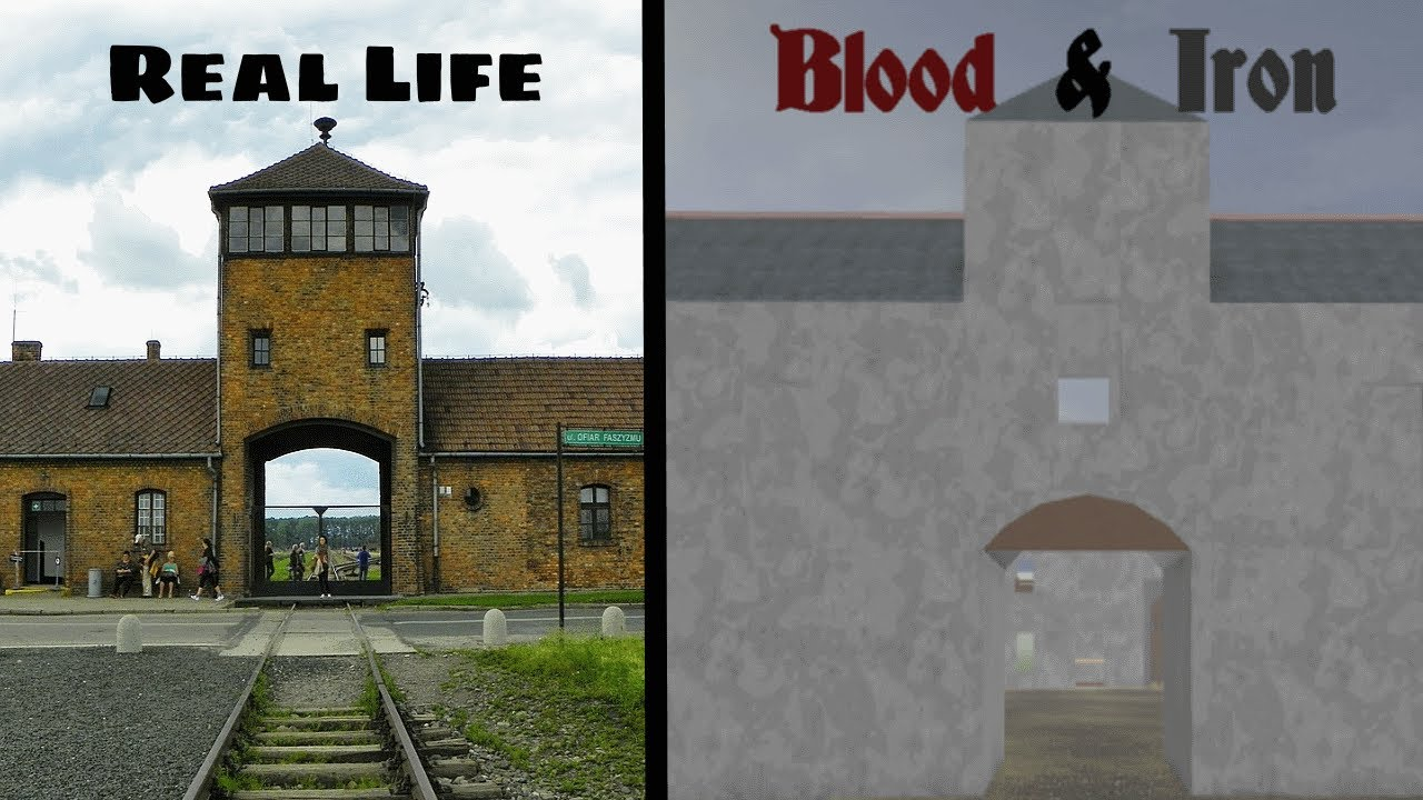 Roblox Blood and Iron Locations VS Real Life