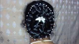 Photo for Bridal hairstyle Bangladeshi and West Bengal  Bangali