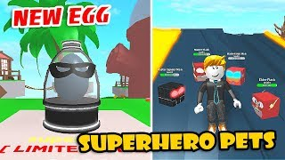 [UPDATE] LIMITED TIME EGG, SUPERHERO & THANOS PETS in PET PARADISE SIMULATOR! (Roblox)