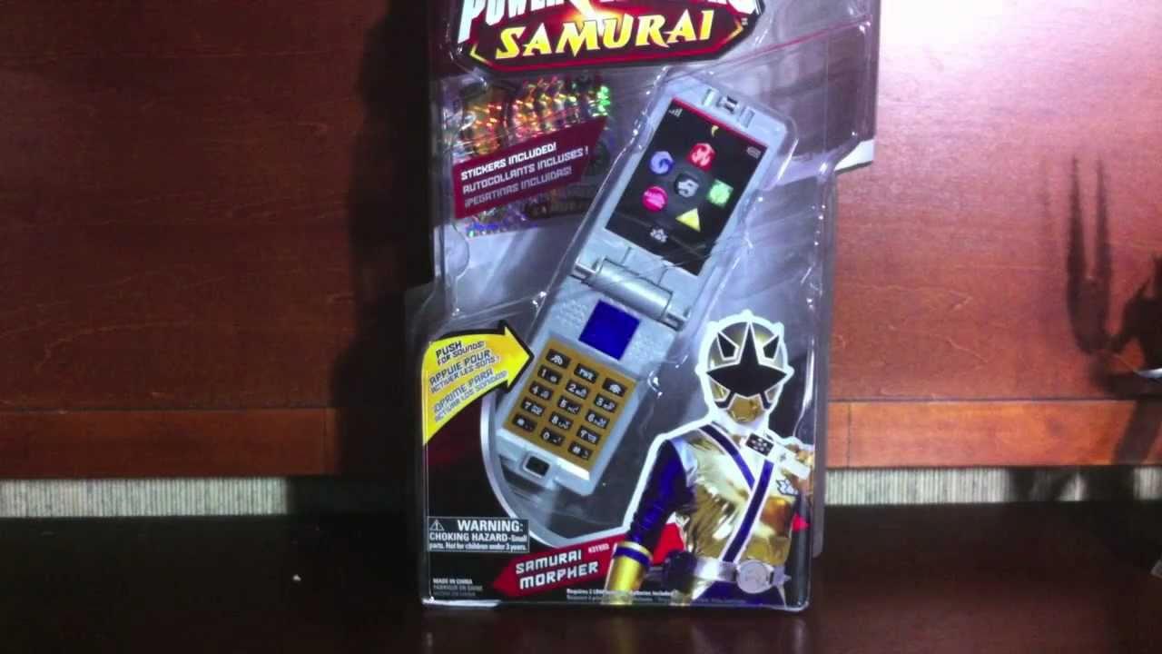 Review: Samurai Morpher (Power Rangers Samurai) - YouTube