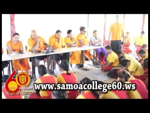 PRESS CONFERENCE : Launching of Samoa College 60th Anniversary Part 1