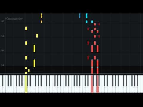 Spiderman Pizza Theme [Piano Tutorial + Sheet music] thumbnail