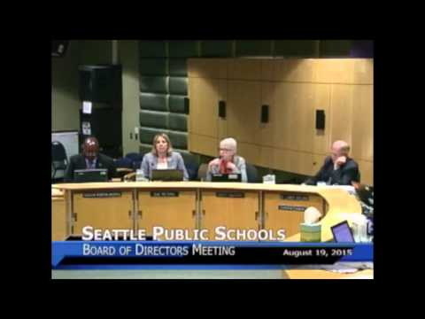 School Board Meeting Date:8/19/2015