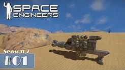 Space Engineers #01 - Der Neubeginn [Let's Play Gameplay German Deutsch]
