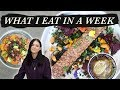 What I Eat in a Week (easy, lazy vegan)