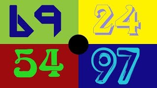 Video Colorful Numbers 1 - 100 [HD] download MP3, 3GP, MP4, WEBM, AVI, FLV Juli 2018