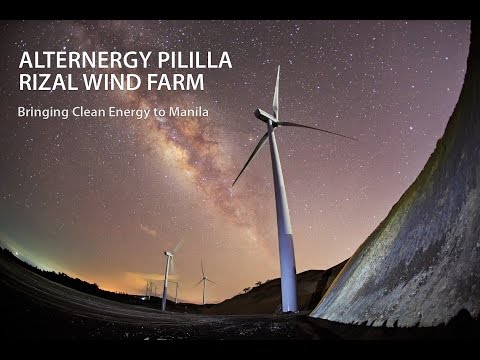 Alternergy Pililla Rizal Wind Farm: Bringing Clean Energy to Manila
