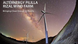 Alternergy Pililla Rizal Wind Farm: Bringing Clean Energy to Manila