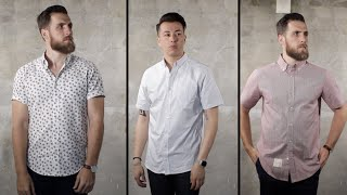 3 Ways to Wear a Short Sleeve Button Down with Gent