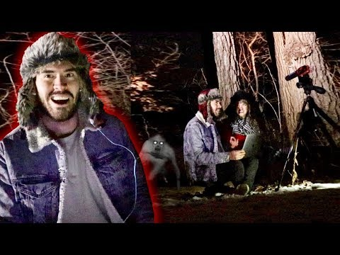 EN MEDIO DE UN BOSQUE Con Videos De Terror !!