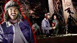 EN MEDIO DE UN BOSQUE Con Videos De Terror !!