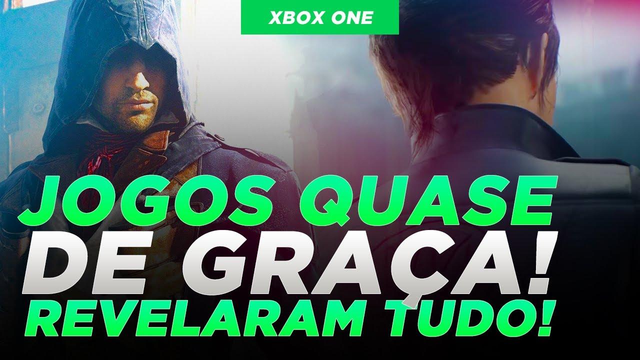 REVELAÇÃO dos JOGOS EXCLUSIVOS DE XBOX já tem HORA e DATA, JOGOS QUASE DE GRAÇA NA PROMOÇÃO!