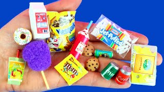 25 DIY MINIATURE FOOD REALISTIC HACKS AND CRAFTS