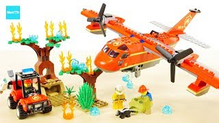 レゴ シティ 消防飛行機 60217 / LEGO City Fire Plane Build & Review