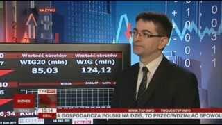 Najnowsze dane nt. PKB komentuje główny ekonomista BGŻ  (TVP Info, 29.05.2013)