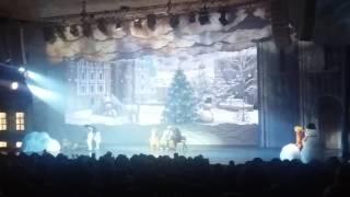 """Дарья Мазикова. """"Особенный день"""". Новогоднее представление в Храме Христа Спасителя часть 1"""
