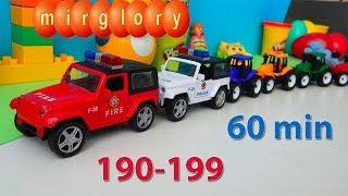 Машинки мультфильм - Город машинок все серии подряд (190-199 серии). Мультики про машинки mirglory