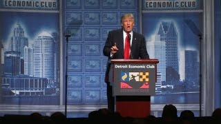 Donald Trump's full speech on the economy