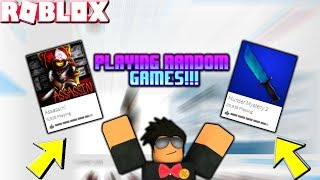 #ROADTO8KSUBS - RANDOM ROBLOX GAMES W/ VIEWERS (TRANSITIONING TO ARM AIM FROM WRIST) *MILD LANGUAGE