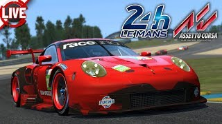 Raceunion 24h Le Mans - Qualifying - Assetto Corsa Livestream
