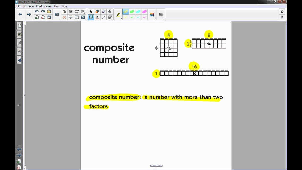 Prime Amp Composite Numbers