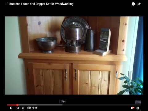 woodworking,-buffet-and-hutch-and-copper-kettle