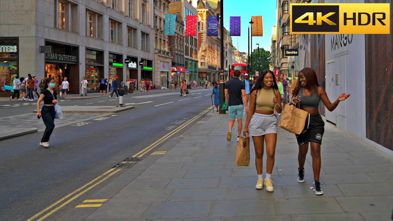 🎇 Freedom Day - 19 July 2021 🇬🇧 London Walk [4K HDR]