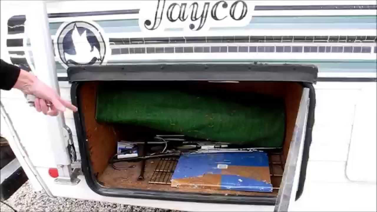 Sold 1985 Jayco Class C Rv Camper Ford Motor Home Awning