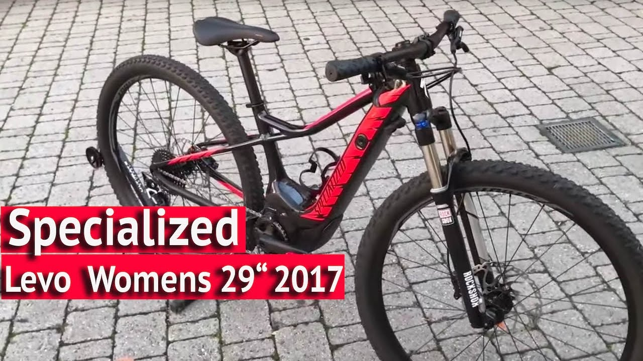 Specialized Levo 29 Women E Bike 2017 Limited Designe Youtube