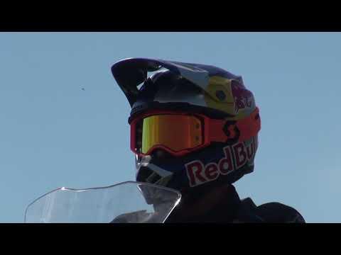 Алексей Колесников тестирует KTM 790 Adventure в мотоэкипировке Alpinestars