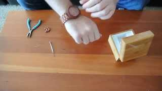 How To Remove Links On A Wooden Watch From Woodie Specs