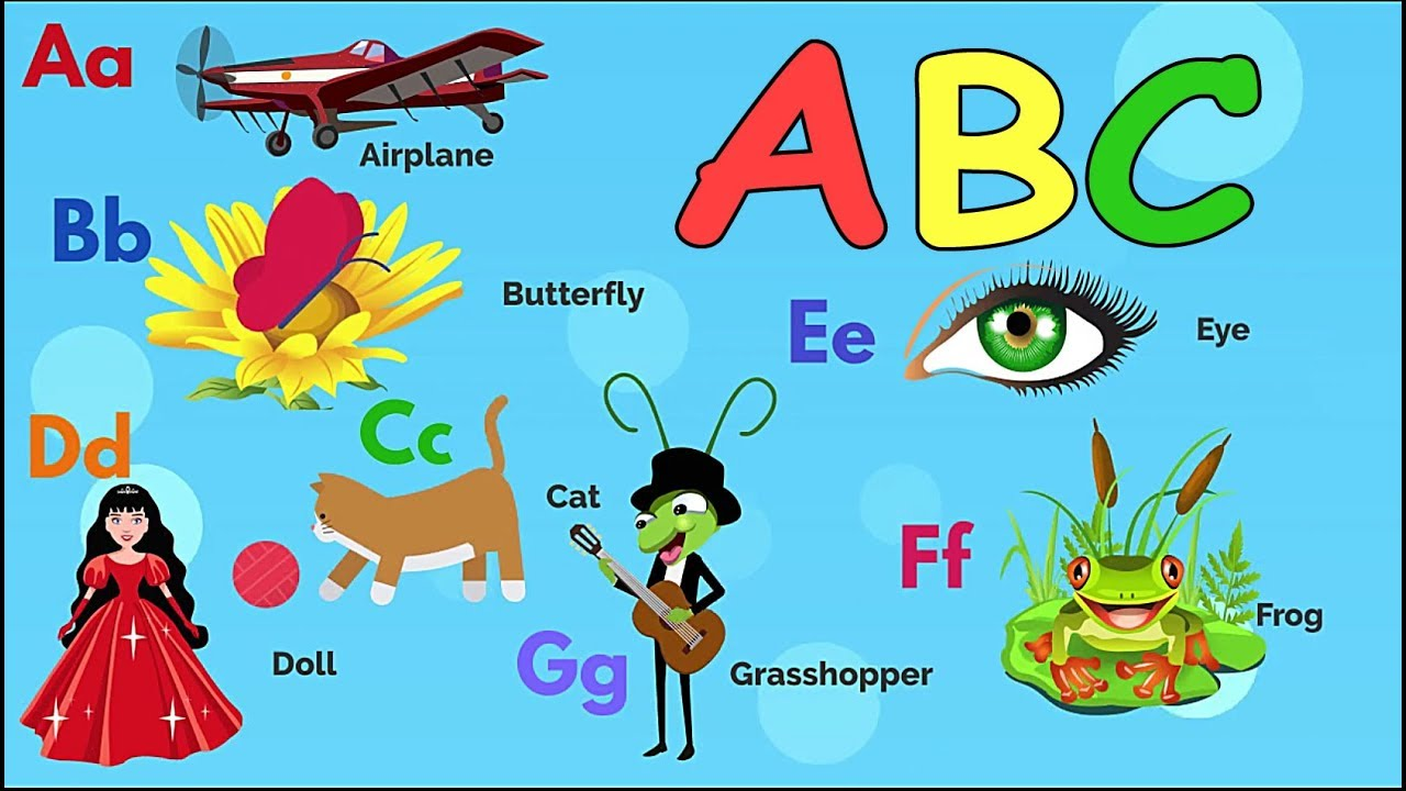 Learn the English Alphabet / The Letters ABC for children - YouTube