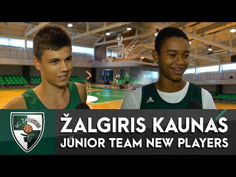 Zalgiris youngsters Kerr Kriisa and Louis Stormark talk about their experience in Lithuania