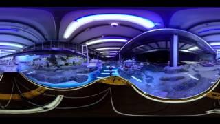 Interaktives 360° Video: Miniatur Wunderland - bitte unbedingt Smartphone oder Maus bewegen.
