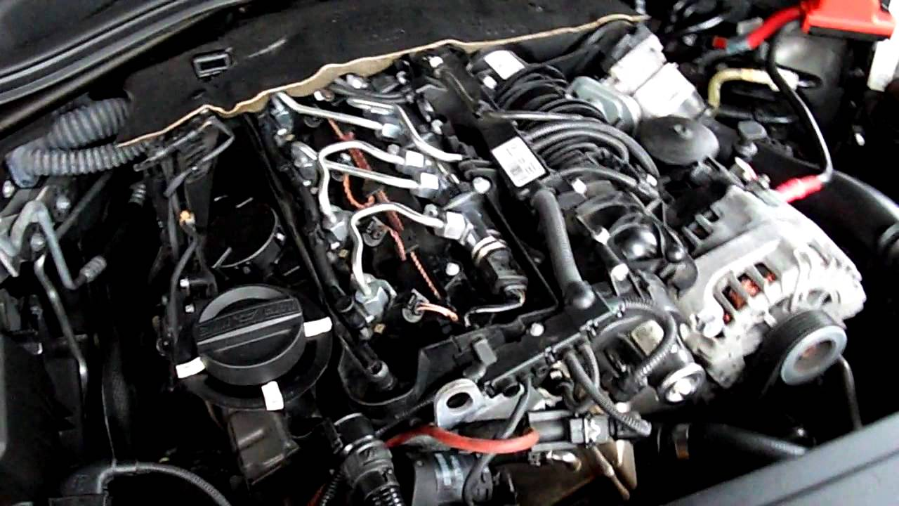 Bmw 520d E60 Turbocharger Mitsubishi Tf035 Vgt Noise 3 Youtube