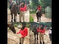 Miss world Manushi chillar horse riding | घोड़े पर सवार मानुषी छिल्लर | indian actress horse riding