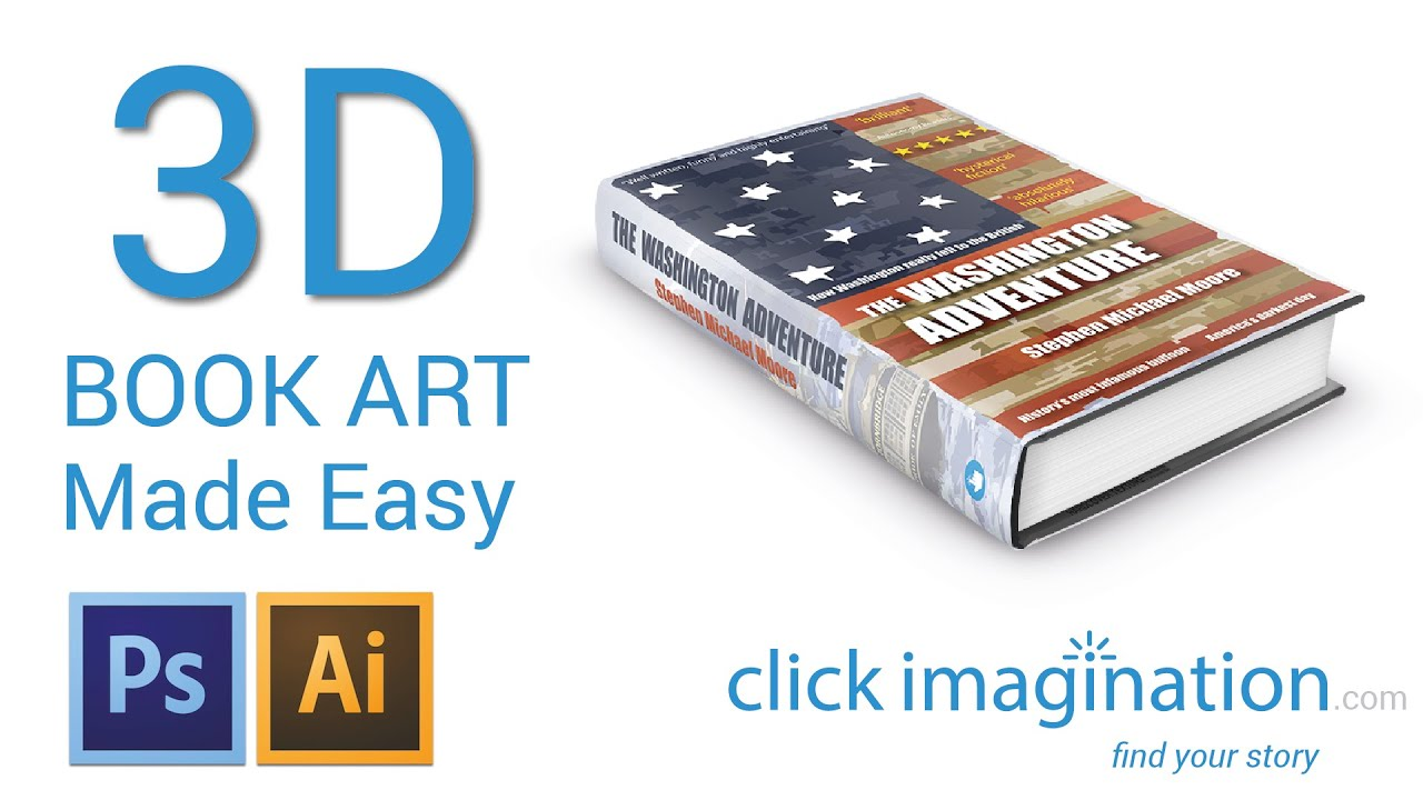 3d How To Create Free 3d Book Cover Art With Photoshop Cs6
