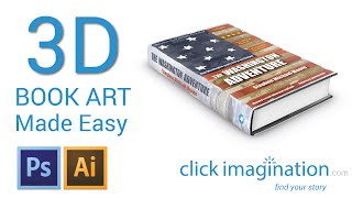 3D How to create FREE 3D Book Cover Art with Photoshop CS6 Actions